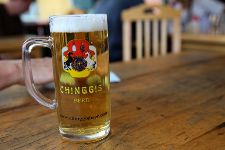 026 Chinggis beer