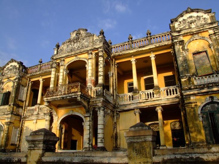 Architecture coloniale, Phnom Penh
